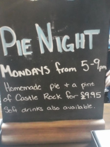 Pie Night