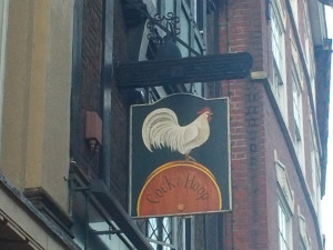 Cock and Hoop sign