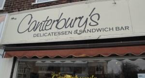 Canterbury's Sandwich Shop