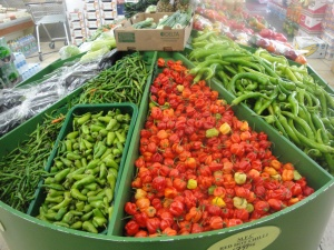 Chillies at Murats