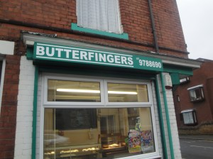 Butterfingers in Basford