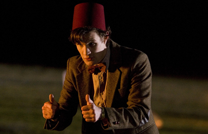 Dr Who and Fez