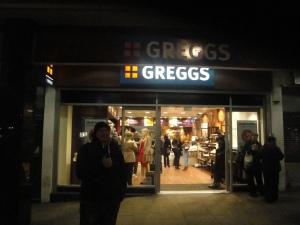 Martin at Greggs