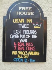 Crown Inn Sign