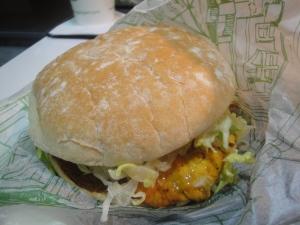 Chicken Piri Piri sandwich