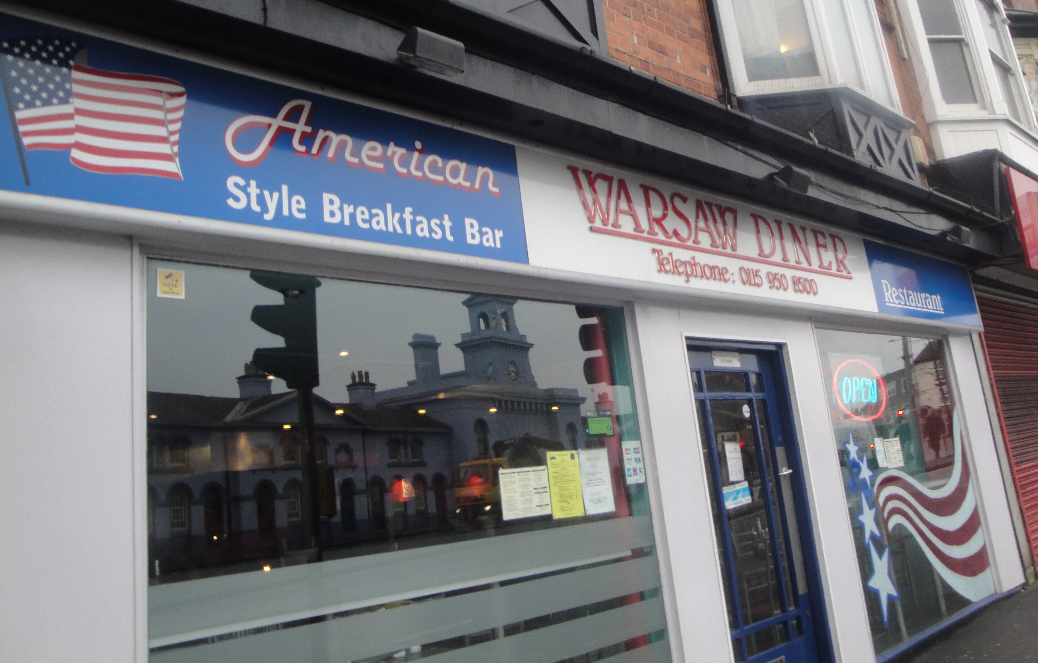 American Diner Nottingham City Centre