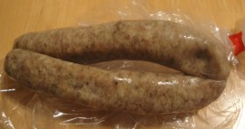 Chicken and lemon herb sausage