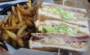 New York Deli style sandwich