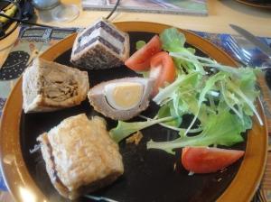 Hartland on a plate
