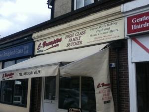 C Brumpton Butchers on Melton Road