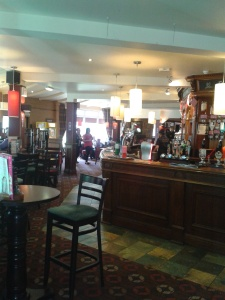 Bar area at the Wheelhouse