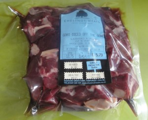 Chestnut Meats Goat