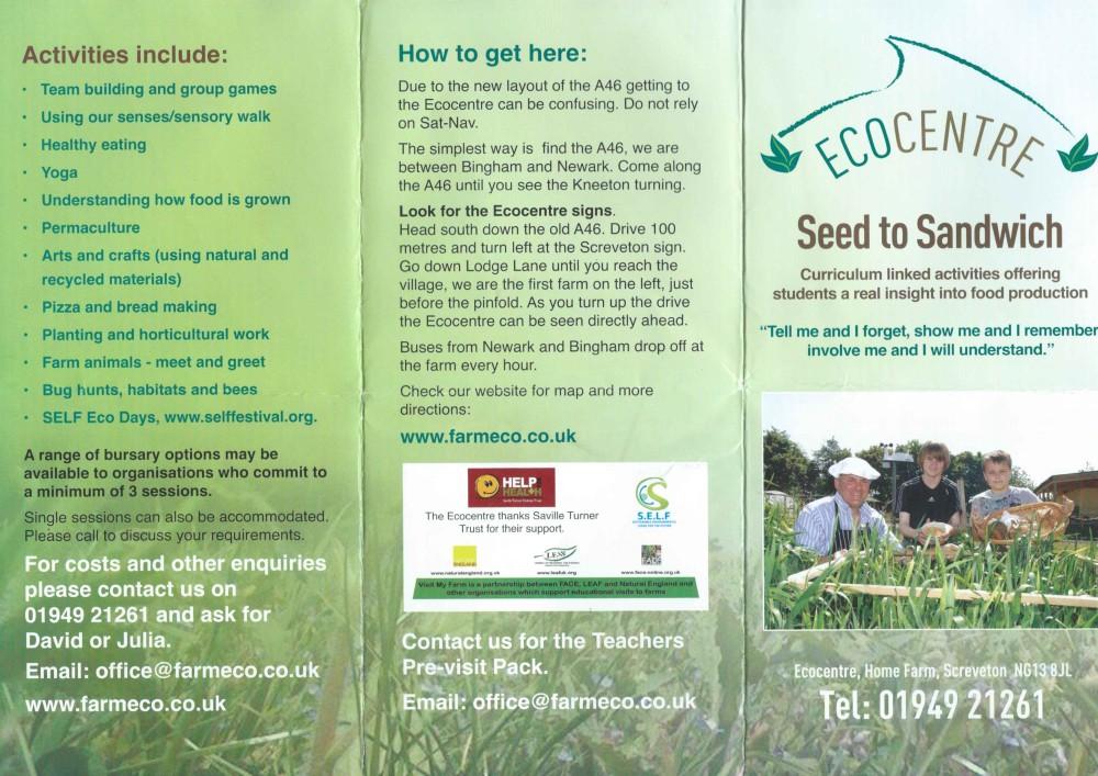 Ecocentre Leaflet