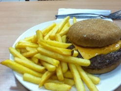 Quarter Pounder with Cheese at Wimpy