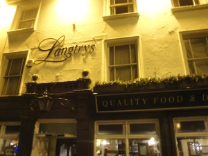 Langtrys Pub in Nottigham
