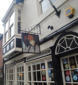Wig and Mitre in Lincoln