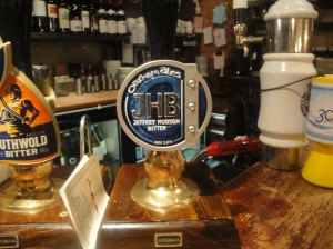 Beer Pump at Wig and Mitre