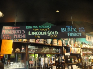 Inside The Jolly Brewer
