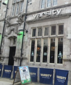 The Varsity Pub in Lincoln