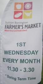 Sutton Bonington Farmers Market
