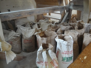 Bags of Flour at Greens Windmill