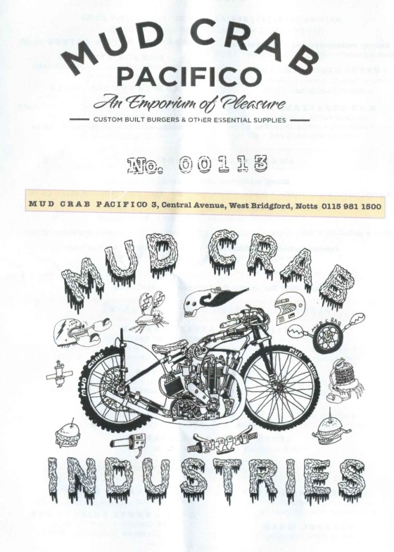 Mud Crab Flyer Cover