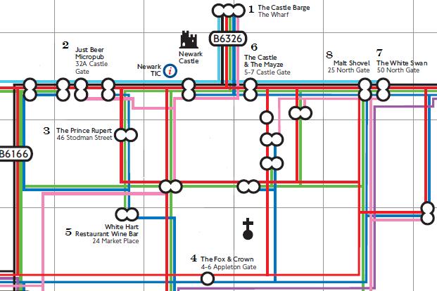 Newark Pub Map MJD