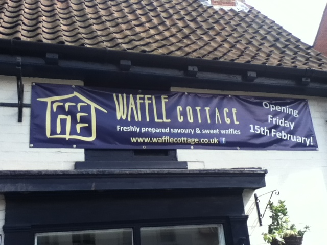 Waffle Cottage In Newark Sweet And Savoury American
