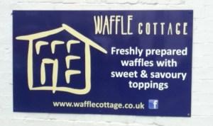 Waffle Cottage Sign