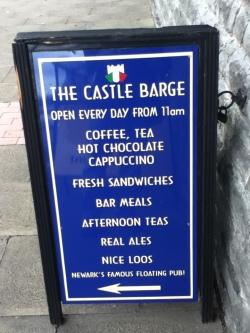 Castle Barge Board