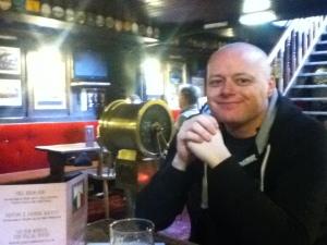 Martin at the Castle Barge Pub