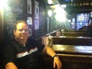 Marcus at the Castle Barge Pub