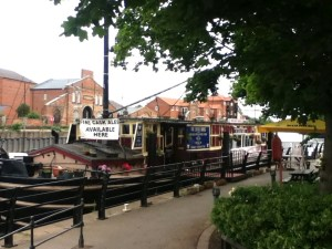 The Castle Barge in Newark