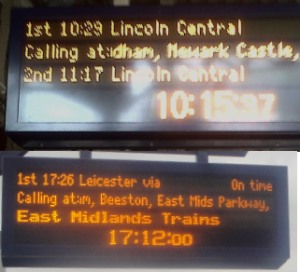 Train Time Lincoln