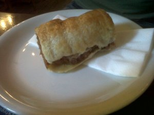 Sausage Roll at the Kean's Head