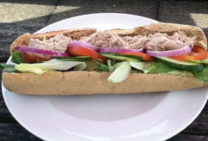 Tuna Mayo Baguette at Edwalton