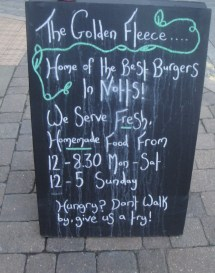 Golden Fleece Chalkboard