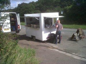 Gourmet Grill Van on A606