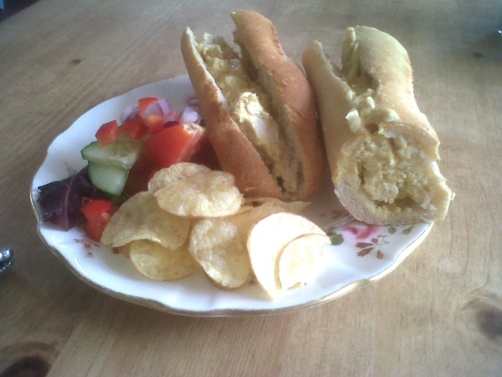 Coronation Chicken Rolls Recipe — Dishmaps