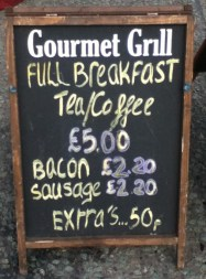 Gourmet Grill on A606