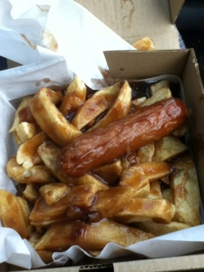 Small Sausage and Chips for 99p