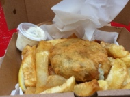 George's Traditional Fish and Chips Shop 99p lunch