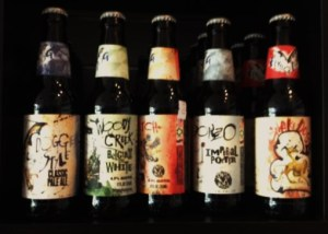 Flying Dog Beers