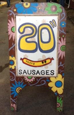 20 inch sausage