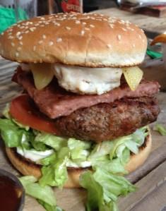 "The ""Navigation Blues"" Burger"