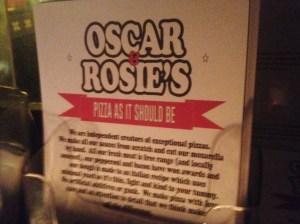Oscar & Rosies
