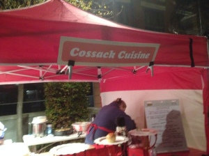 The Cossack Cuisine Stall