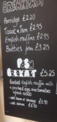 Posh Breakfast Chalkboard