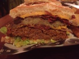 Half a Reggie Burger