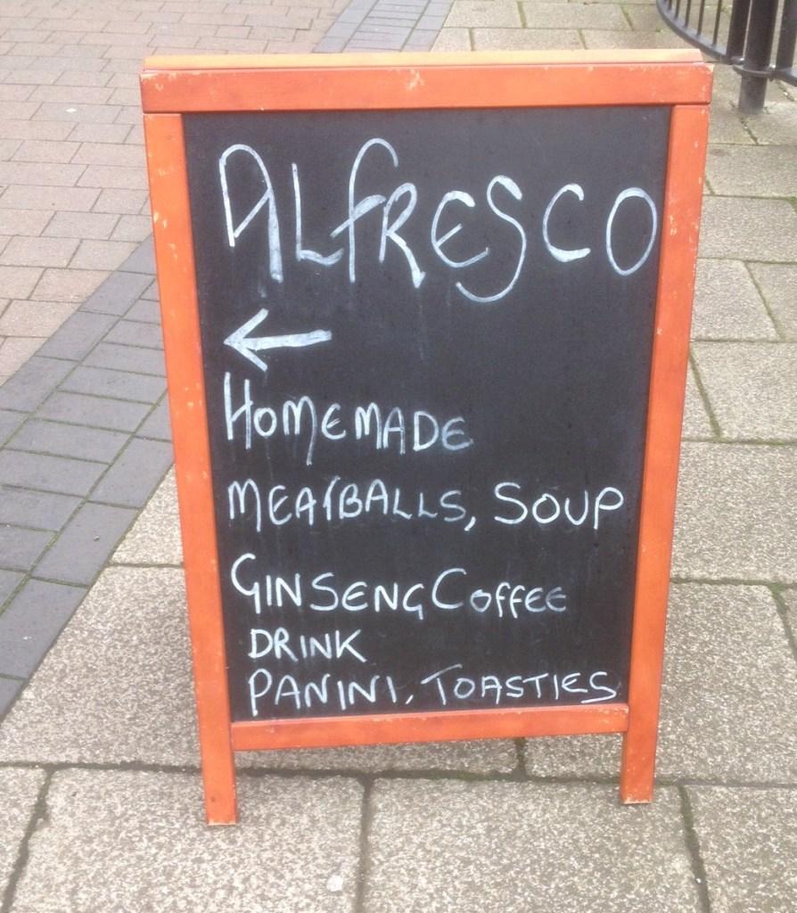 Alfresco Chalkboard